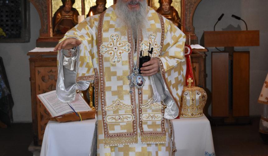 Taina Sf. Maslu, săvarșită împreună cu IPS Serafim. A avut loc în data de 14 Iulie, ora 17.00