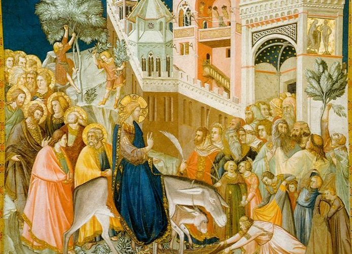 Intrarea Domnului în Ierusalim (Duminica Floriilor)